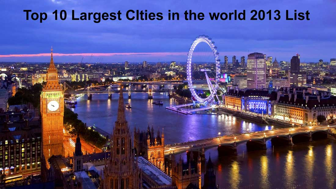 Top 10 Largest Cities of the world | What is the Largest city in the world,What is the Largest City in the World by Population,largest cities in the world, largest city in the world