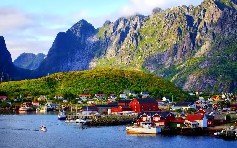 beautiful resorts in Norway