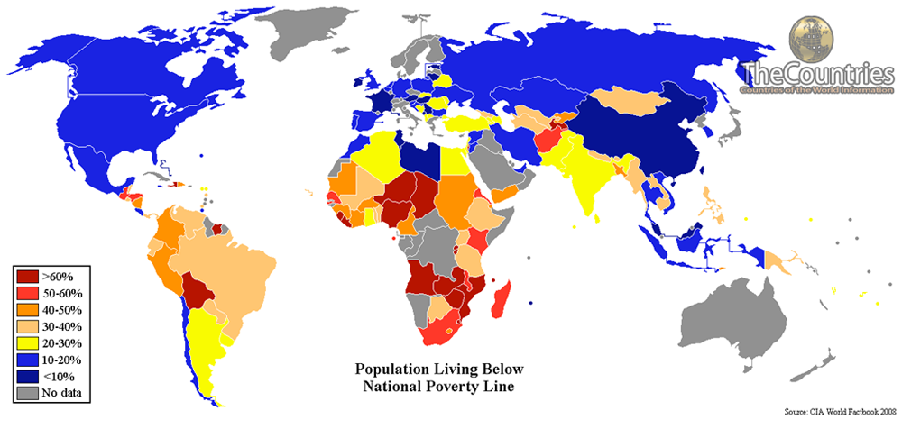 list of top 10 poorest countries in the world 2015