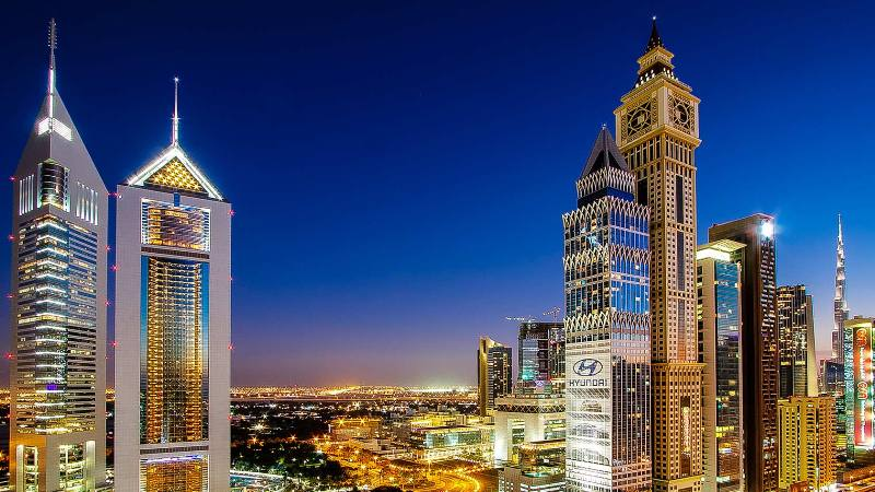 most beautiful buildings in UAE