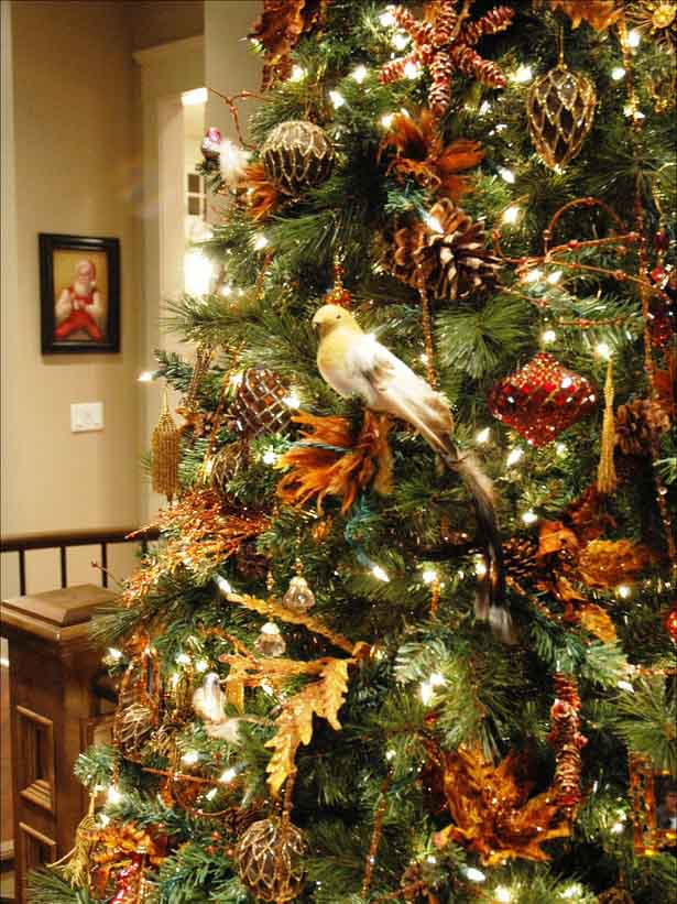 Top 10 christmas tree decorating ideas ever countries of Natural decorating