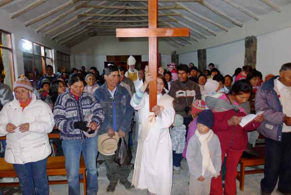 Peru Worshipers, the most religious nations around the world