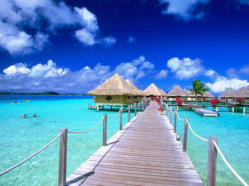 Bora Bora, Tahiti-most-beautiful-beaches-world-best-resorts
