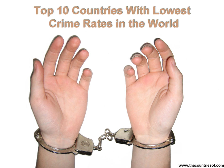Top 10 Countries with the lowest crime rates in the world