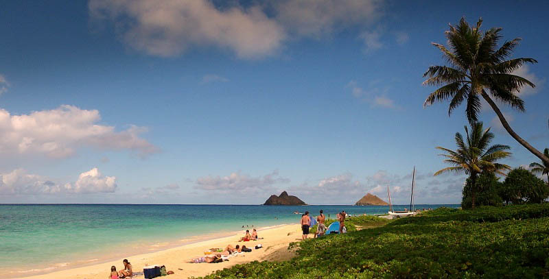 Lanikai Beach, Hawaii--most-beautiful-beaches-world-best-resorts