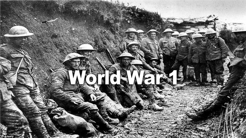 world war 1 image