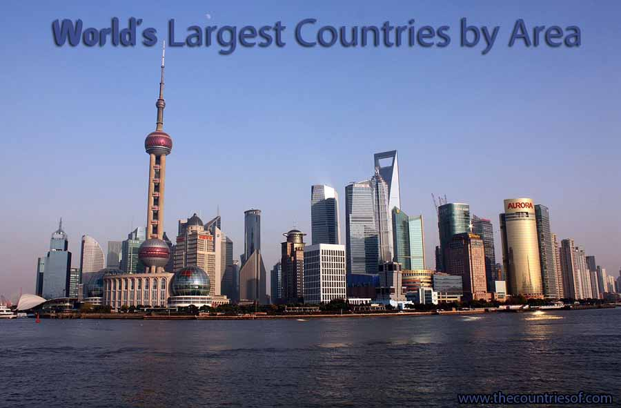 top 10 largest countries in the world by area size